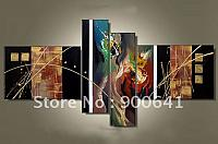 Hand-painted-Modern-Oil-Painting-Canvas-Abstract-Home-Decoration-Deco-Art-High-Quality-GX095