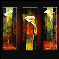 Free-Shipping-100-Handmade-Modern-Flower-Oil-Painting-on-Canvas-Wall-Art-Top-Home-Decoration-JYJLV215