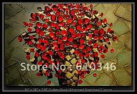Free-shipping-Wholesale-Retail-Handicraft-Modern-Abstract-Large-Oil-Painting-Flower-Still-Lifes-Floral-Livingroom-Unframe