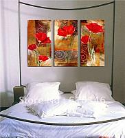 Free-shipping-Wholesale-Retail-Modern-Abstract-Oil-Paintings-Floral-Flowers-Leaf-Portrait-Sunflower-Floral-Bedroom-Unframe